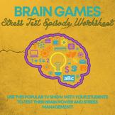 Brain Games Worksheet: Stress Test