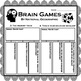 Brain Games by National Geographic: Worksheets (Easy Sub Plans)