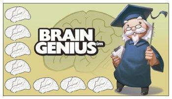 Brain Genius Punch Card