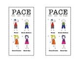 Brain Gym Pace Bookmark