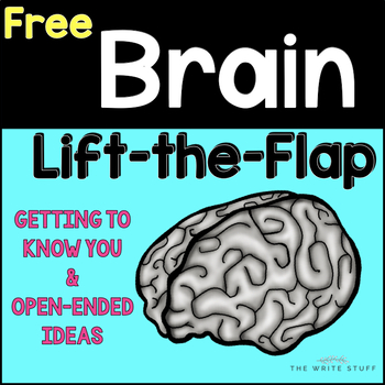 Brain Lift the Flap Growth Mindset Activity