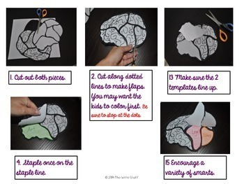 Back to School Brain Growth Mindset Activity