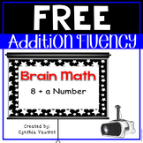 Brain Math Freebie