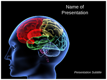 Brain Ppt Template For Brain Powerpoint Presentation By Templates Vision
