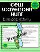 Brain Pop Cells Scavenger Hunt/Webquest