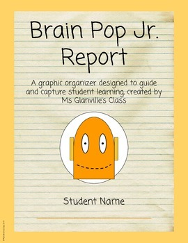 Brain Pop Jr. Video Report
