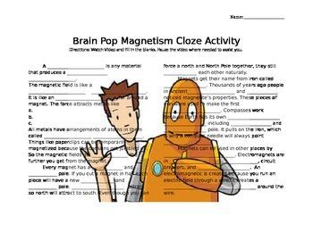 Brain Pop Magnetism
