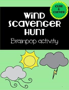 Brain Pop Wind Scavenger Hunt/Webquest