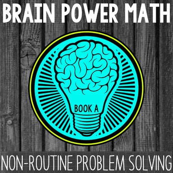 Math Problem Solving {Book A} by Teacher Thrive | TpT