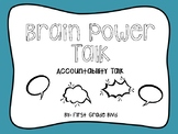 Brain Power Talk - Accountability Talk