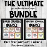 Brain Starters & Writing Journals Growing Bundle