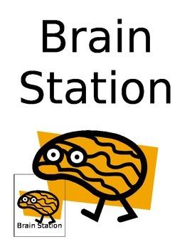 Brain Station Sign