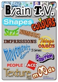 Brain TV - Inspire Writing, Prompts Poster