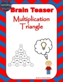 Math Brain Teaser: Multiplication Triangle