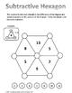 Math Brain Teaser: Subtractive Hexagon
