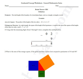 Brain Teasers 3-Pack MD1, MD2 & SD1