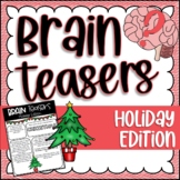 Brain Teasers and Logic Puzzles | Holiday | Christmas