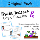 Brain Teasers & Logic Puzzles for Gifted and Talented Students