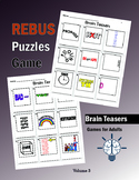 Brain Teasers Rebus Puzzles Games (Easy)