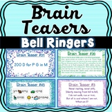 Brain Teasers - Riddles - Brain Breaks - Puzzles - Bell Ringers