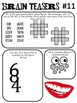 Brain Teasers Set #11; Riddles, Logic Puzzles and More!