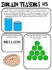 Brain Teasers Set #5; Riddles, Logic and More!