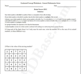 Brain Teasers Worksheet DY2 - Math probs & puzzles (Dare You!)