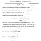 Brain Teasers Worksheet MD1 - Math probs & puzzles (Medium Difficulty)