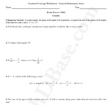 Brain Teasers Worksheet MD2 - Math probs & puzzles (Medium Difficulty)