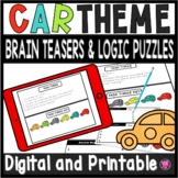 Brain Teasers and Logic Puzzles for Gifted and Talented Students