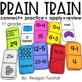 Brain Train Math Dominoes