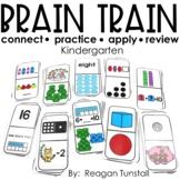 Brain Train Math Dominoes Kindergarten