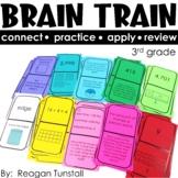 Brain Train Math Dominoes Third Grade