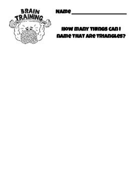 Brain Training Activities