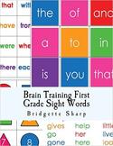 Brain Training First Grade Sight Words
