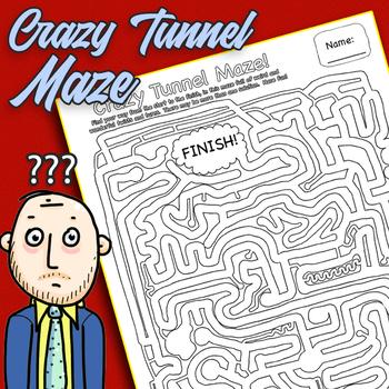 Crazy Tunnel Maze!