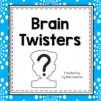 Brain Twisters - Freebie