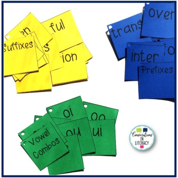 Brain Warm Up Cards for Guided Reading