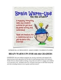 Brain Warm-Ups for 4th-6th Graders