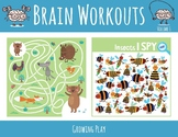 Brain Workouts Volume 1 - Brain Breaks, Recess, Early Finishers, Fun Stuff