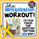 30 Multiplication Fluency and Exercise Brain Breaks
