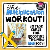 30 Multiplication Fluency and Exercise Brain Breaks