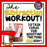 30 Subtraction Fluency and Exercise Brain Breaks