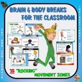 "Brain Breaks for the Classroom - 75 ""Rockin"" Movement Centers"