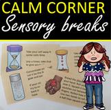 Calm Corner Brain breaks / Calming tasks
