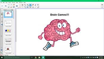 Brain games SMARTboard activity!!