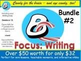 BrainCandy-StudyGuide Bundle Vol II - Writing helps