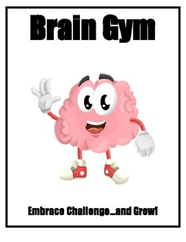 """Growth Mindset """"BrainFit"""" Posters for Remedial Intervention/Resource"""
