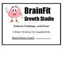 "Growth Mindset ""BrainFit"" Posters for Remedial Interventio"