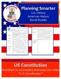 BrainPop U.S. Constitution Worksheet